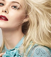 Elle Fanning, L'Oréal Paris