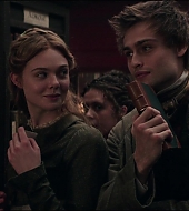 elle fanning, mary shelley, screen captures
