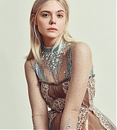 elle fanning, photoshoot, harper's bazaar, germany, may 2018