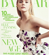 elle fanning, photoshoot, sofia sanchez, may 2018, harper's bazaar, germany